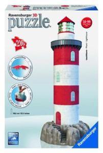 Puzzle 3D Latarnia morska na skale 216 - 2825872803