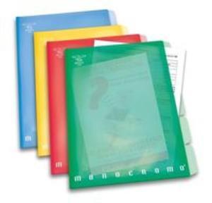 Aktówka A4 Pigna mix kolorów - 2857737725