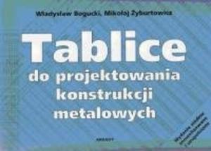 Tablice do projektowania konstrukcji metalowych - 2825662772