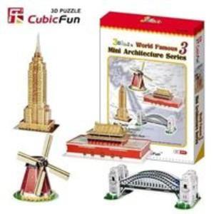 Puzzle 3D Mini Architektura Seria 3 - 2825873950
