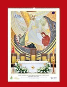 Kalendarz 2016r. - Mozaiki Sanktuarium św. Jana Pawła II - 2857738872