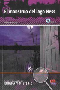 El monstruo del lago Ness książka + CD - 2825874749
