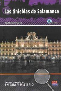 Las tinieblas de Salamanca książka + CD - 2853576085
