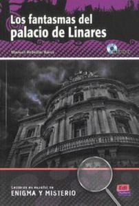Los fantasmas del palacio de Linares ksiażka + CD - 2857739332