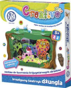 Kreatywny teatrzyk Astra Creativo - dżungla - 2825877072