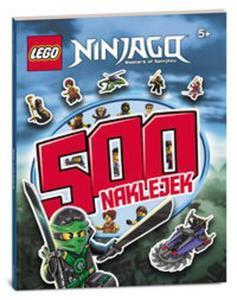 LEGO NINJAGO 500 NAKLEJEK LBS-701 - 2857742891