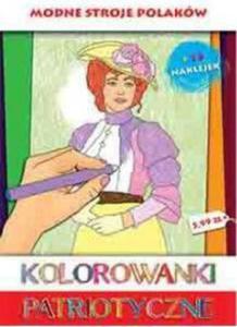 Kolorowanki patriotyczne Modne stroje polskie - 2825879305