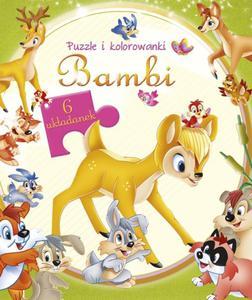 Bambi. Puzzle i kolorowanki - 2825880050