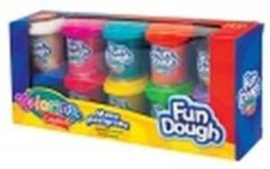 Masa plastyczna 10 kolorów Colorino Kids - 2825880425