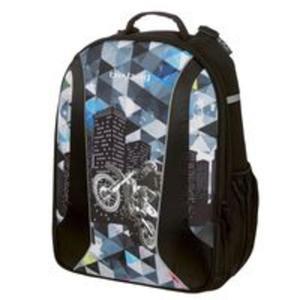 Plecak szkolny Be-Bag Airgo Motocykl - 2857747018