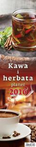 Kalendarz 2016 Kawa i herbata planer - 2825883248