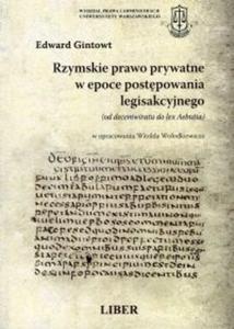 Rzymskie prawo prywatne w epoce postępowania legisakcyjnego