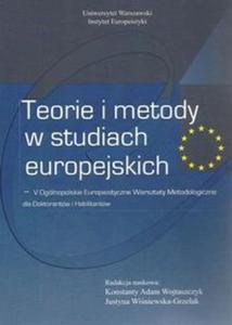 Teorie i metody w studiach europejskich - 2857748727