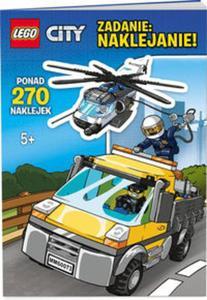 Lego City. Zadanie naklejanie - 2825884279
