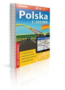Polska Atlas samochodowy 1:300 000 2016/2017 - 2825884505