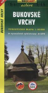 Bukovske Vrchy Mapa turystyczna 1:50 000 - 2825884570