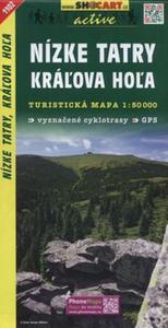 Nizke Tatry Kralova Hola Mapa turystyczna 1:50 000 - 2857749023