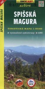 Spisska Magura Mapa turystyczna 1:50 000 - 2825884573