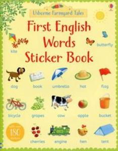 First English Words Sticker Book - 2825885238