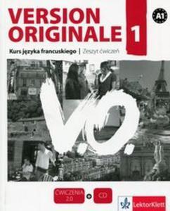Version Originale 1 Kurs języka francuskiego Zeszyt ćwiczeń