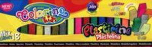 Plastelina kwadratowa Colorino mix 18 kolorów - 2851071348