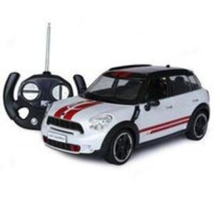 Auto Mini Cooper S 1:14 zdalnie sterowany biały - 2857753707