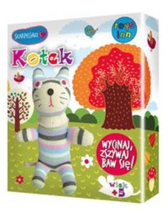 Skarpetkowe zwierzaki KOTEK - 2857754395