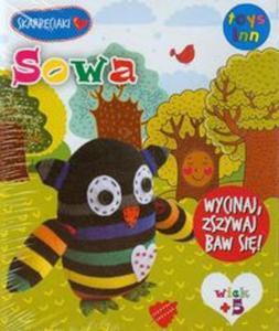 Skarpetkowe zwierzaki Sowa - 2857754884