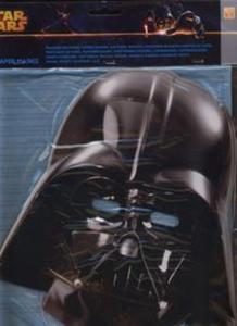 Maska papierowa Star Wars Darth Vader 6 sztuk - 2857756492
