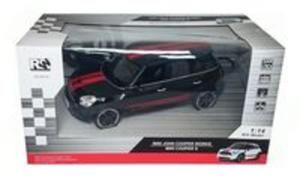 Mini Cooper S zdalnie sterowany skala 1:14 czarny - 2857757083