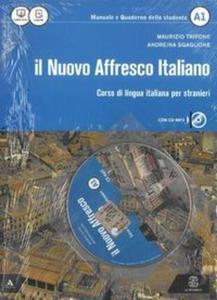 Nuovo Affresco italiano A1 Podręcznik + CD - 2857759373