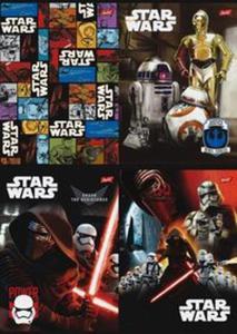 Zeszyt A5 Star Wars w trzy linie 16 kartek mix - 2857760181