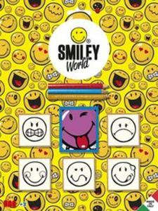 Pieczątki blister 5 sztuk Smiley World - 2857761600