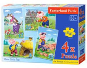 4x1 Puzzle Three Little Pigs - 2825902008