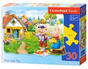 Puzzle konturowe Three Little Pigs 30 - 2857766534