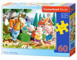 Puzzle Three Little Pigs 60 - 2825902203