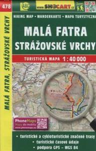 Mala Fatra Strazovske Vrchy 1:40 000 - 2857768958