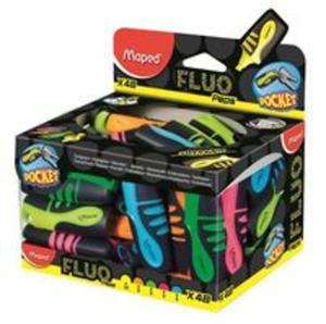 Zakreślacz fluo peps pocket mix kolorów - 2857771257