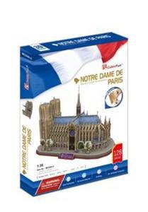 Puzzle 3D Katedra Notre Damme 74 - 2825908310