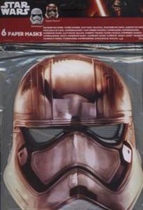 Maska papierowa Star Wars Capitan Phasma, Szturmowiec - 2857774329