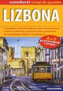 Lizbona 2w1. Mapa Express Map / 1:17 500 - 2857774356