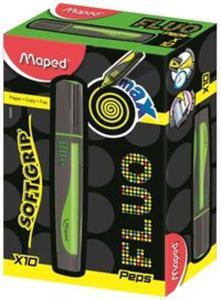 Zakreślacz Fluo Peps Max zielony 10 sztuk - 2857776152