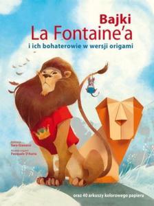 Bajki La Fontainea i ich bohaterowie w wersji origami - 2851099805