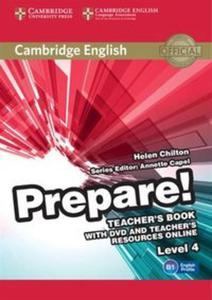 Cambridge English Prepare! 4 Teacher's Book + DVD and Teacher's Resources Online - 2825916308