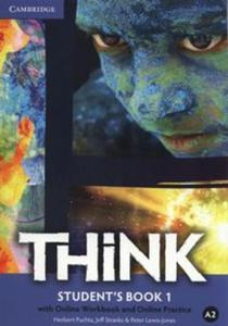 Think 1 Student's Book with Online Workbook and Online practice - 2853617645