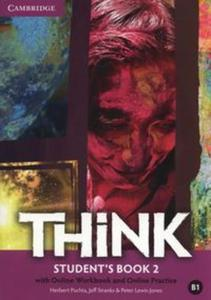 Think 2 Student's Book with Online Workbook and Online practice - 2851101056