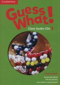Guess What! 3 Class Audio 2CD British English - 2825916817