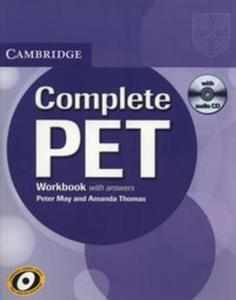 Complete PET Workbook with answers + CD - 2857781453