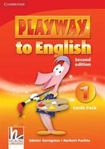 Playway to English 1 Cards Pack - 2825917214