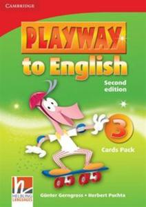 Playway to English 3 Flash Cards Pack - 2825917215